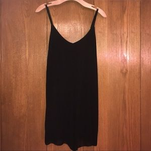 Don't Ask Why Black Romper